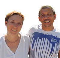 Fabienne & Alain Veyret - Camping Le Domaine de Gajan - Languedoc Roussillon