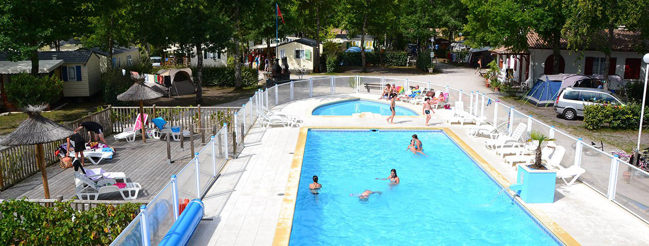 Camping La Canadienne Ar S Gironde Aquitaine In