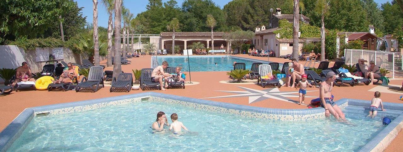 camping les pecheurs piscine