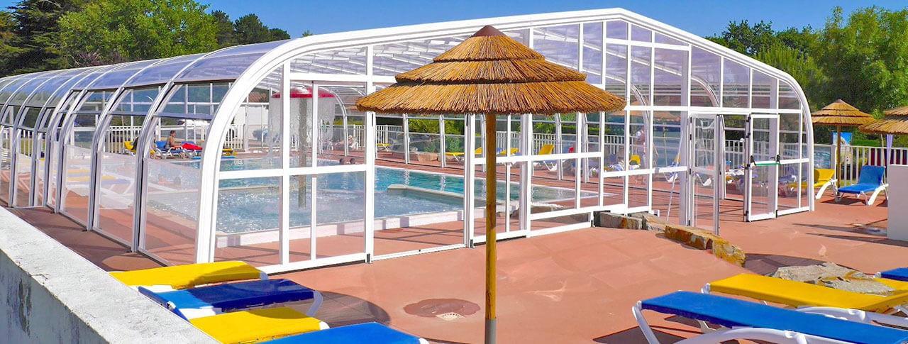 camping les brillas piscine couverte