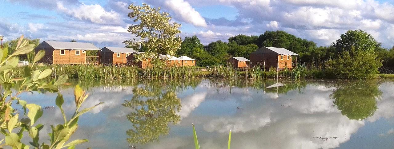 camping lodges blois chambord etang
