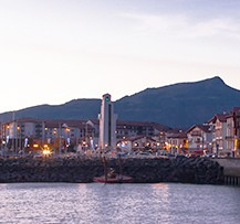 camping pays basque port