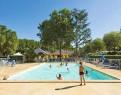 camping Les Nobis d'Anjou piscine extérieure chauffée