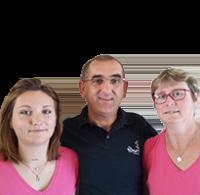 Chloé, Denis & Sabine WADOUX - Camping Le Domaine du Rompval - Picardie