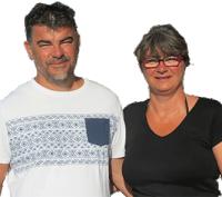 Christel & Fabrice Sanchis - Camping Le Haut Dick - Normandie