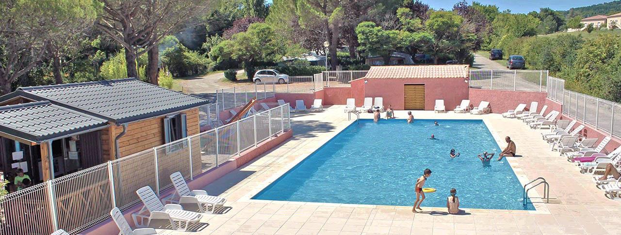 camping Provence Vallée piscine