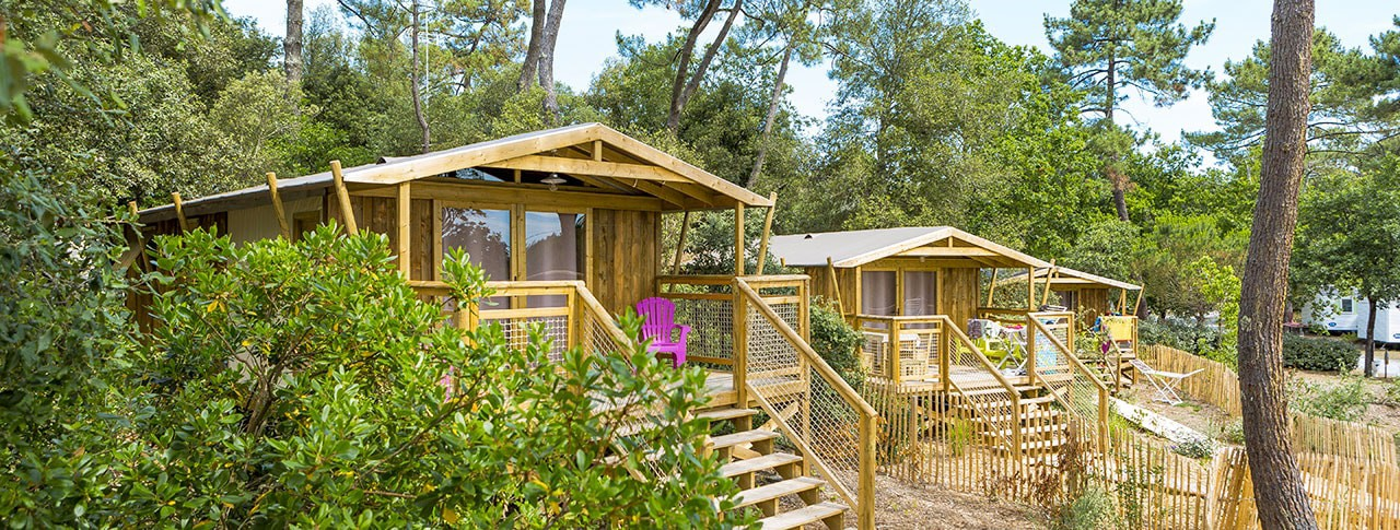 camping des pins soulac cabane lodge sweetflower
