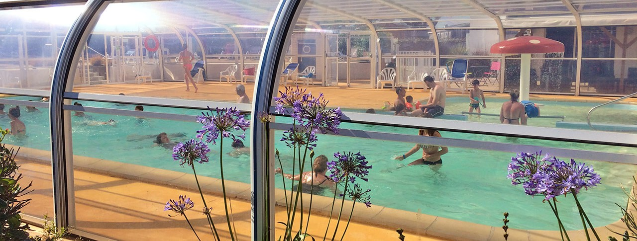 camping la pointe du talud piscine couverte