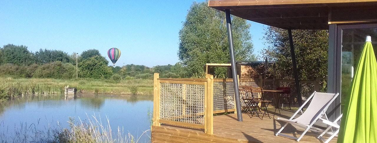 Les Lodges de Blois-Chambord location au bord de l'eau