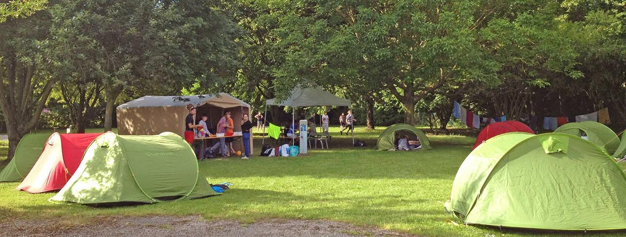 camping Les Marguerites emplacements tentes