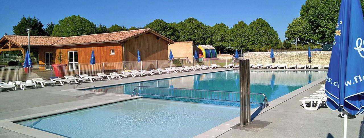 Camping Le Bel Air piscine extérieure chauffée