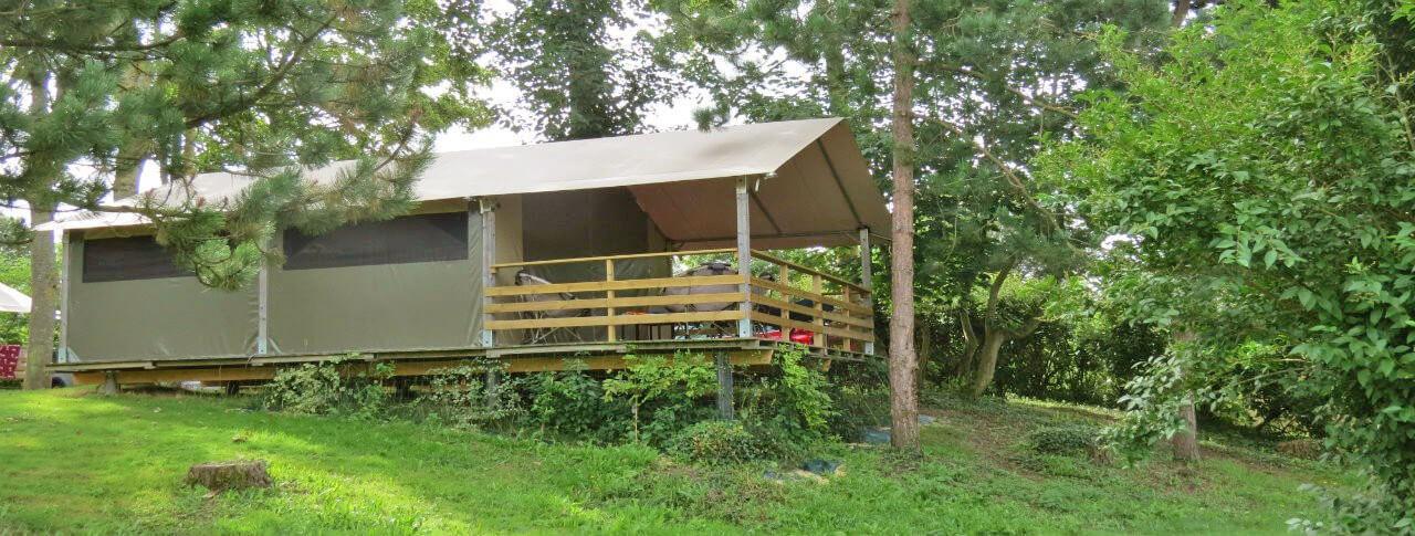 camping Le Haut Dick location de bungalows toilés