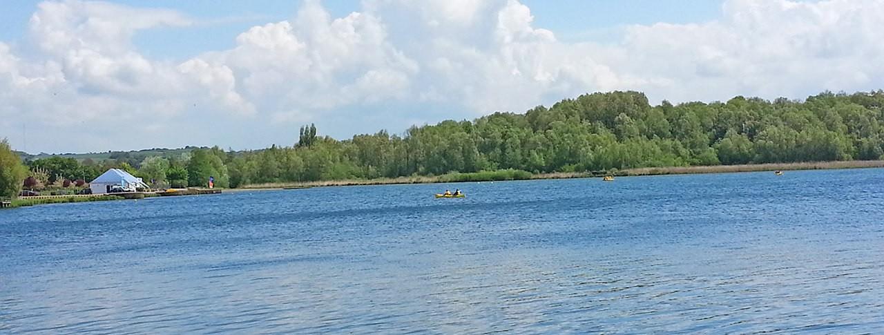 camping Les Marguerites bord de lac