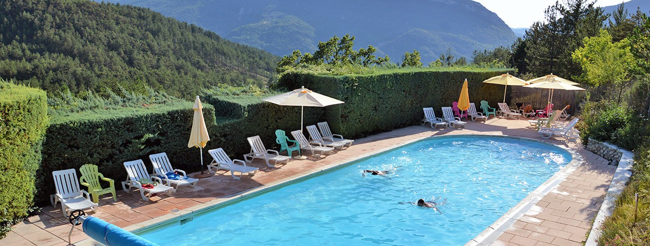 Camping domaine des deux soleils avec piscine