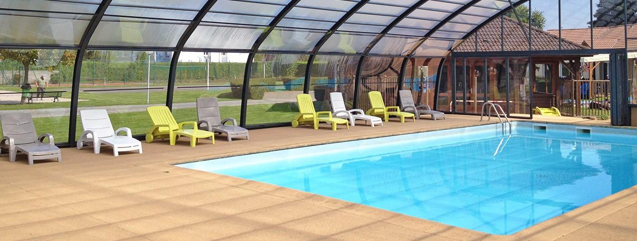 camping les marguerites piscine couverte