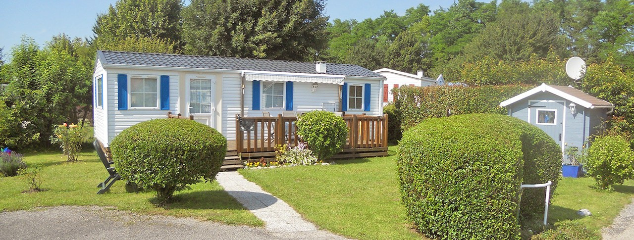 camping les marguerites mobil-home