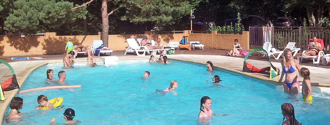 Camping la Pibola piscine Ariège