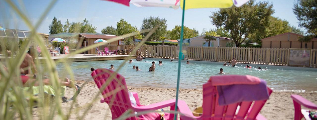 Camping avec Lagon de baignade Le Petit Paris
