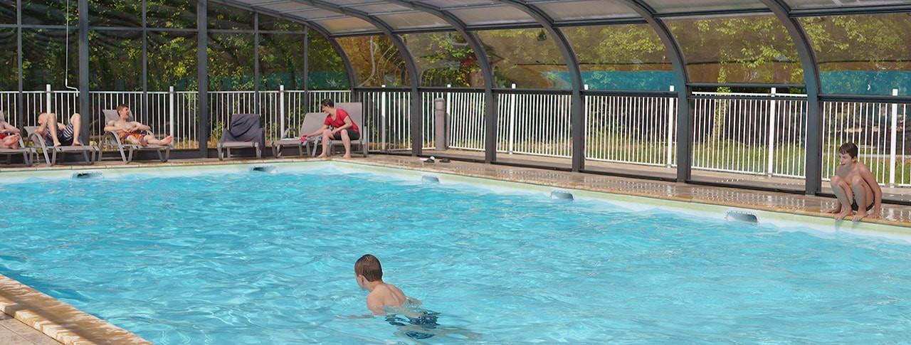 Camping Lac aux Oiseaux piscine couverte chauffée