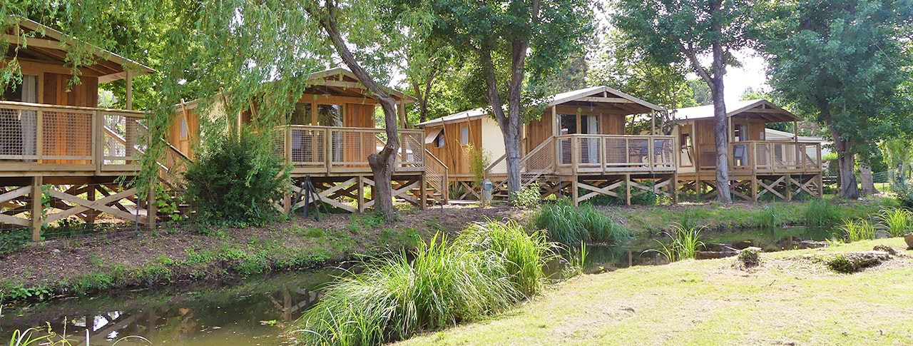 Camping Nauzan Plage cabanes lodges