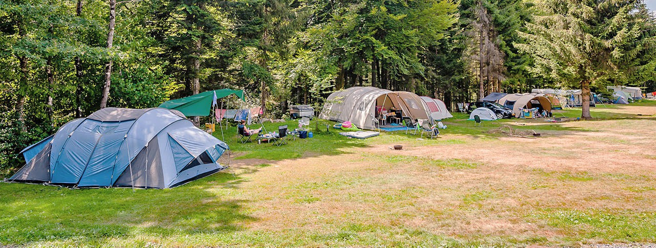 Camping La Sténiole emplacements terrain camping