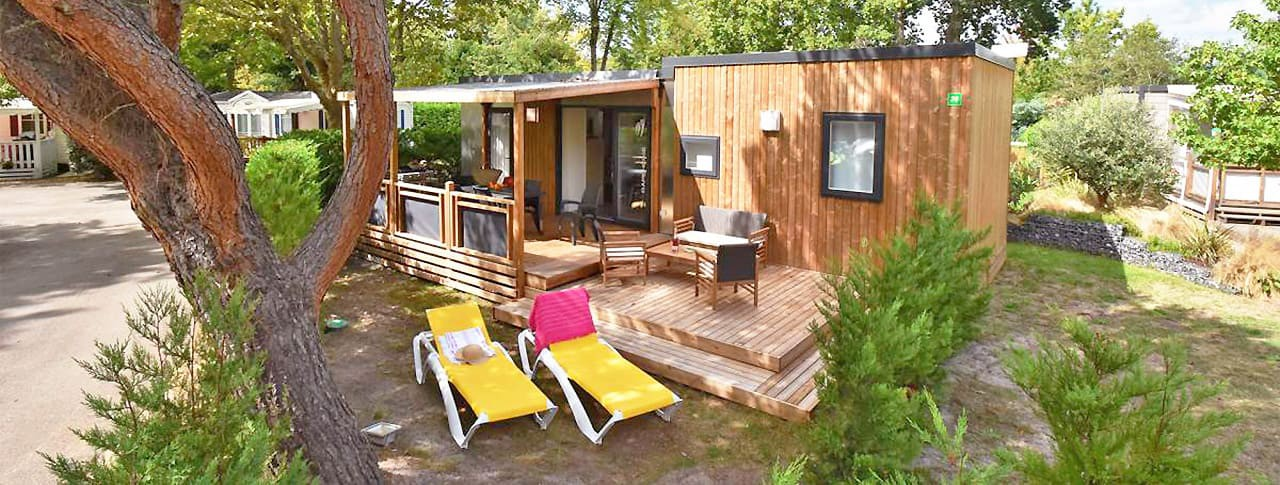 Mobil-home Biscarosse Camping Le Bimbo