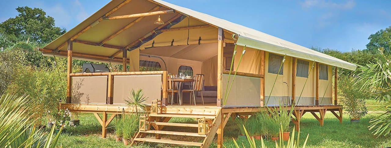 Camping Le Château cabane lodge