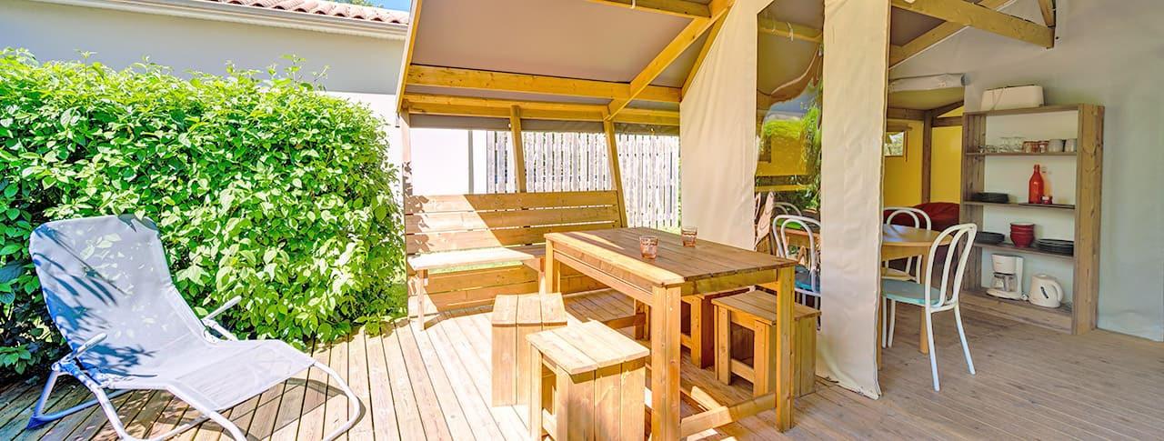 Camping La Venise Verte Lodges Marais Poitevin
