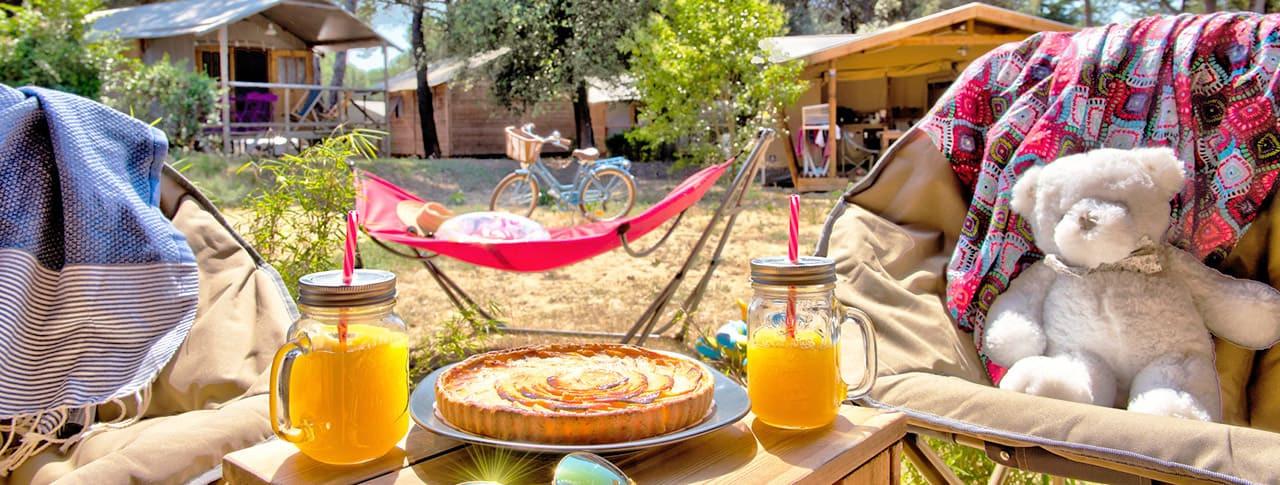 Camping Le Bel Air bungalows toilés Ile de Ré