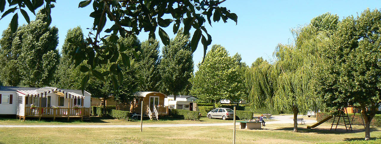 Camping la promenade location mobil-homes