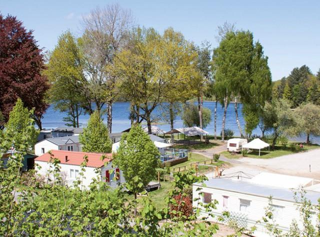camping Le Port de Neuvic vue aérienne du camping-3