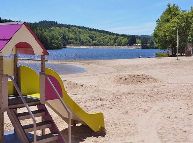 Camping La Plage lac-2