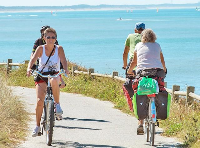 Camping plage vélo Bretignolles sur Mer-3