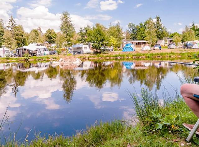 Camping La Sténiole étang pêche-4
