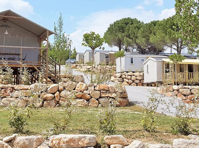 Camping Provence Vallée Mobil-homes Manosque-2