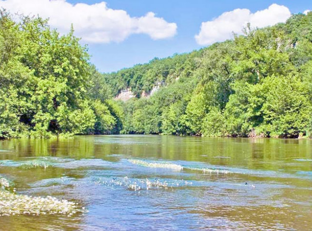 Camping La Sagne accès rivière Dordogne-2