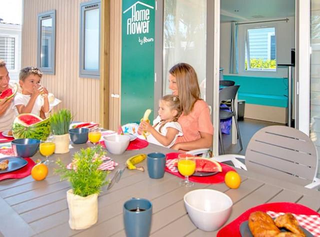 Camping Les Ilates mobil home Ile de Ré-3