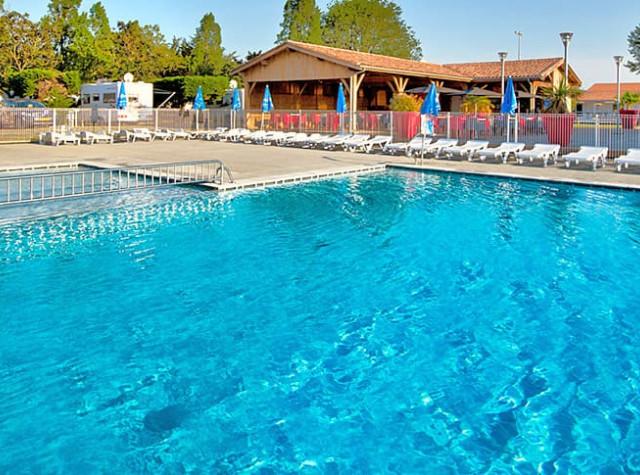 Camping Le Bel Air piscine Ile de Ré-4