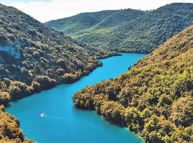 Camping La Beaume Lac d'Esparron-5