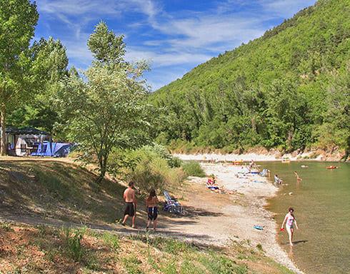 Camping Le Peyrelade