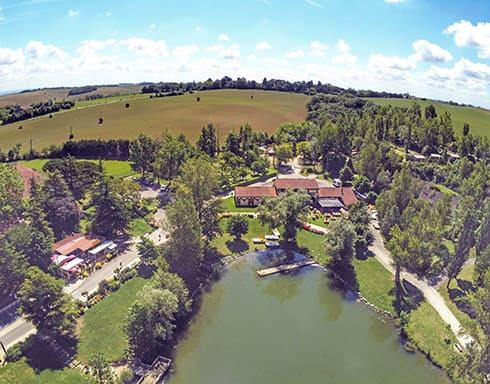 Camping du Lac de La Thésauque