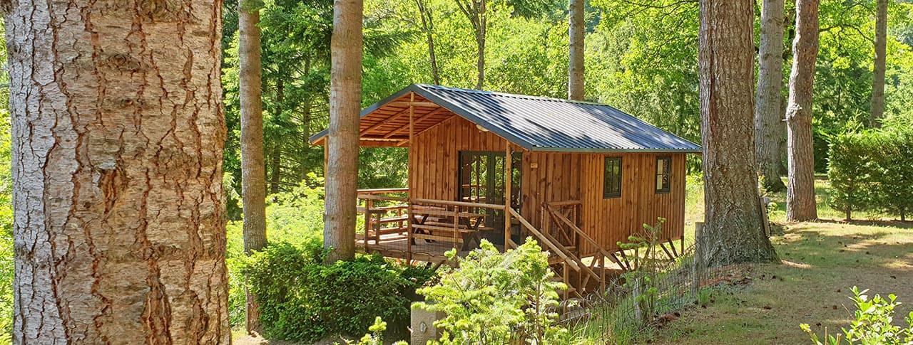 Location de cabane en camping