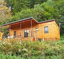 Camping les Vernières lodge premium