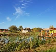 vignette slider Flower Camping Les Lodges de Blois Chambord cabane sur l'eau