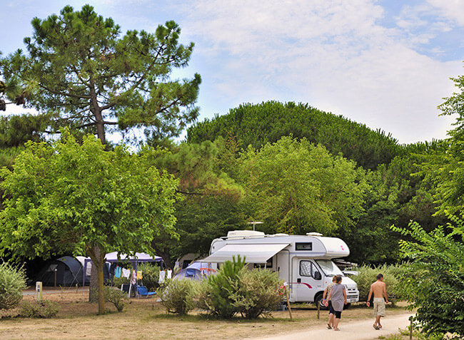 camping Le Bel Air emplacement camping car-13