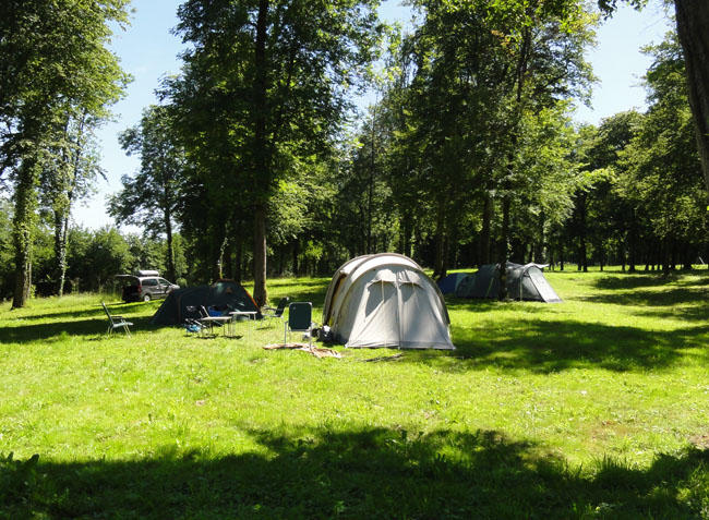 camping Domaine du Buisson emplacement-7