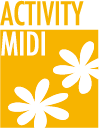 Flower Campings activity midi
